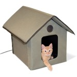 K-H Pet Products Outdoor Kitty House - Heated