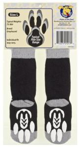 Power Paws Dog Socks - Greyhound Style