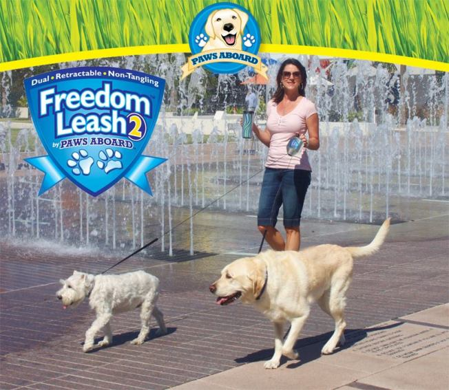 Paws Aboard Freedom Leash 2