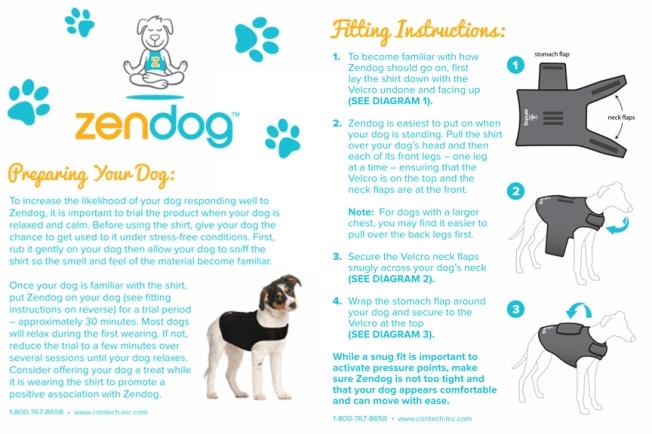Zendog-Calming-Compression-Shirt-Preparing-Your-Dog