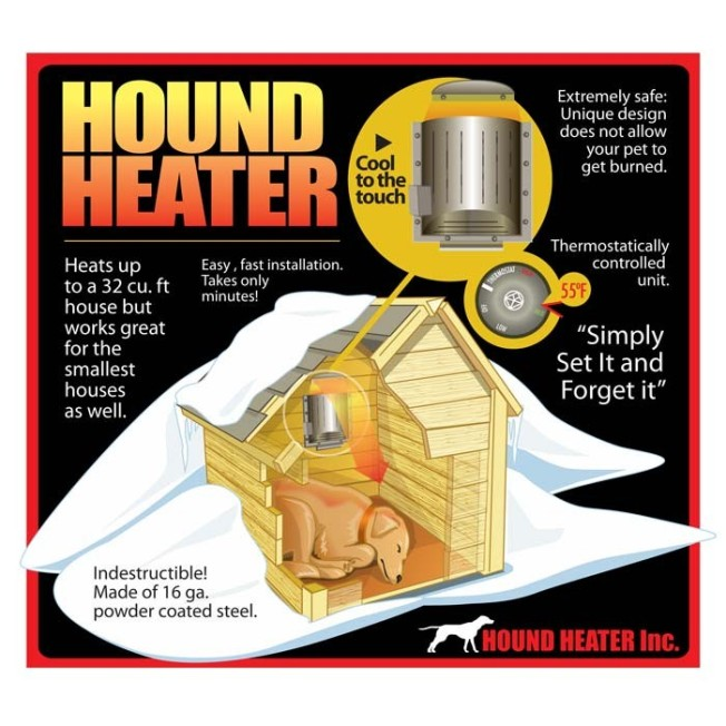 Illustration of Akoma Hound Heater Deluxe
