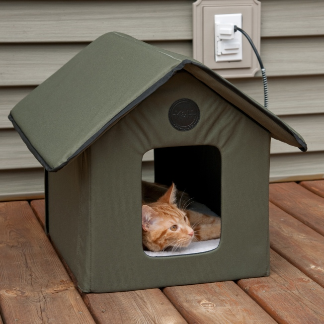 K&H Outdoor Heated Kitty House KH3993