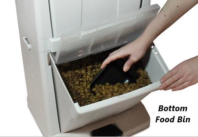 Richell Pet Stuff Tower 41008 - Bottom Food Bin