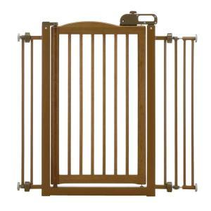 Richell One-Touch Pet Gate - Autumn Matte 94118