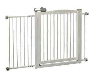 Richell One-Touch 150 Pet Gate - White (94161)