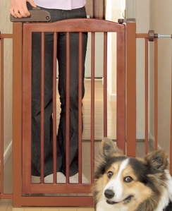 Richell One-Touch Pet Gate Lockable Door