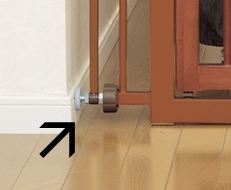 Richell One-Touch Pet Gate - Rubber Stoppers