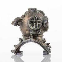 BioBubble Old Dive Helmet Aquarium Ornament