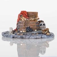 BioBubble Pirate Treasure Aquarium Ornament